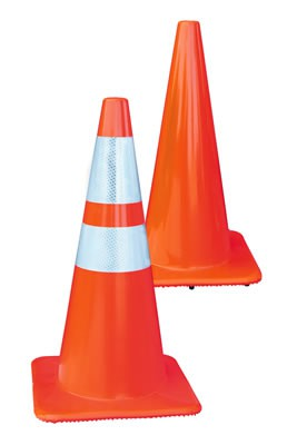 "28"" Wide Traffic Cones"