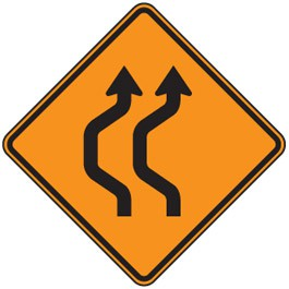 Double Reverse Curve (2 Lane)