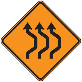 Double Reverse Curve (3 Lane)