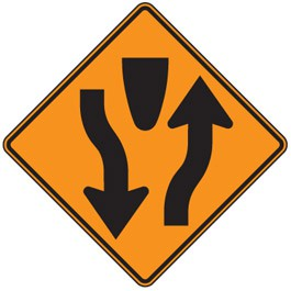 Divided Highway Symbol