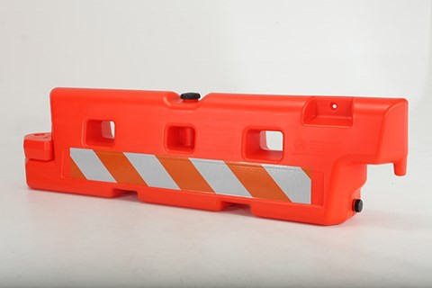 Off The Wall AR24x96 Low profile Plastic Barricade
