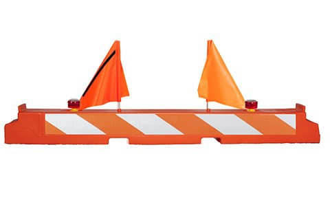 Off The Wall RAR10x96 Low Profile Plastic Airport Barricade