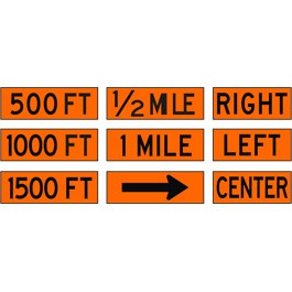 Roll Up Sign Overlays
