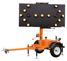 Ver-Mac 15 Lamp Arrowboard Trailer