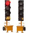 Ver-Mac Portable Traffic Signal TLG1408 / TLG-1412