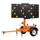 Ver-Mac 25 Lamp Arrowboard Trailer